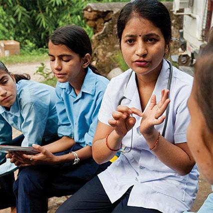 Help build school clinics.